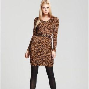 NEW Michael Kors Leopard Print Dress